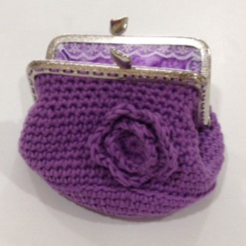 correr zapatos exuberante en diseño nuevos productos para Monedero en Crochet