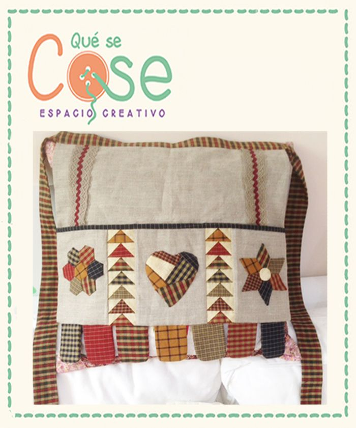 Comprar Kit Delantal Patchwork | QueSeCose