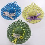 Sombreritos de Crochet