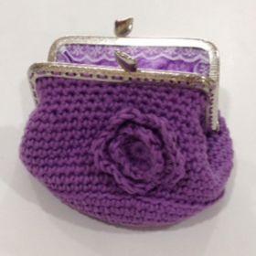 Monedero en Crochet
