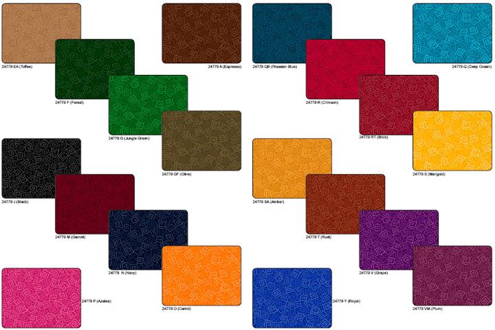 Coleccion de Telas de Patchwork Harmony Squares