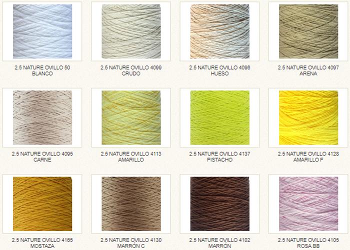 Lanas Cotton Nature 2,5 Hilaturas LM
