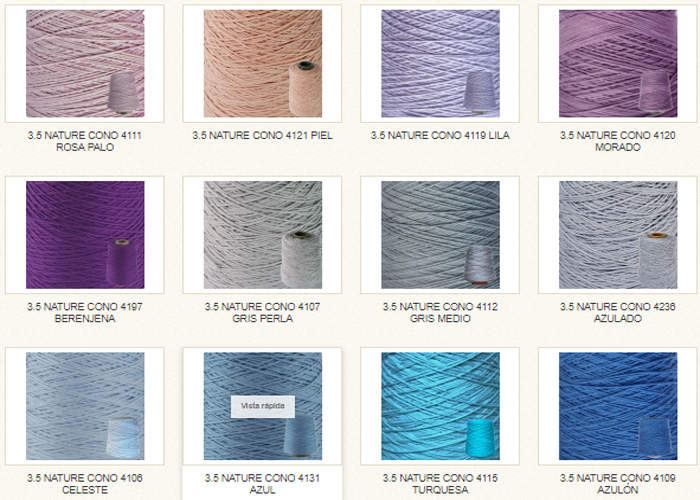 Lanas Cotton Nature 3,5 Hilaturas LM