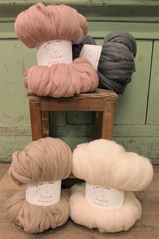 Coleccion de Lanas El Merinazo de Rosas Crafts