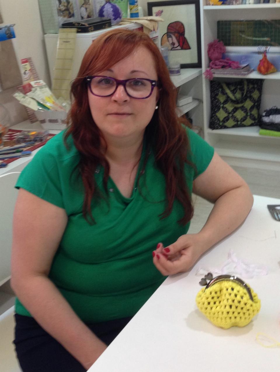Primer proyecto de Crochet terminado