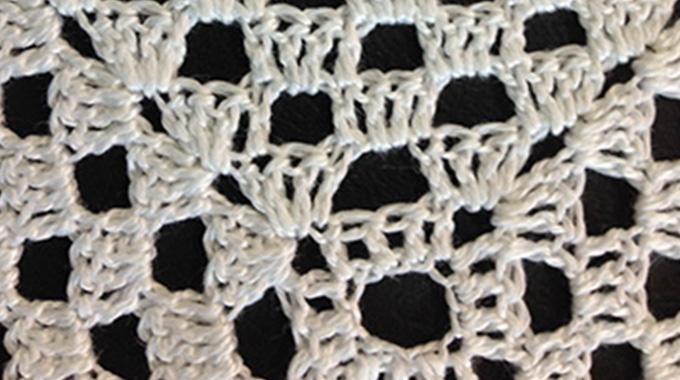 Crochet: trabajo a Punto de Red
