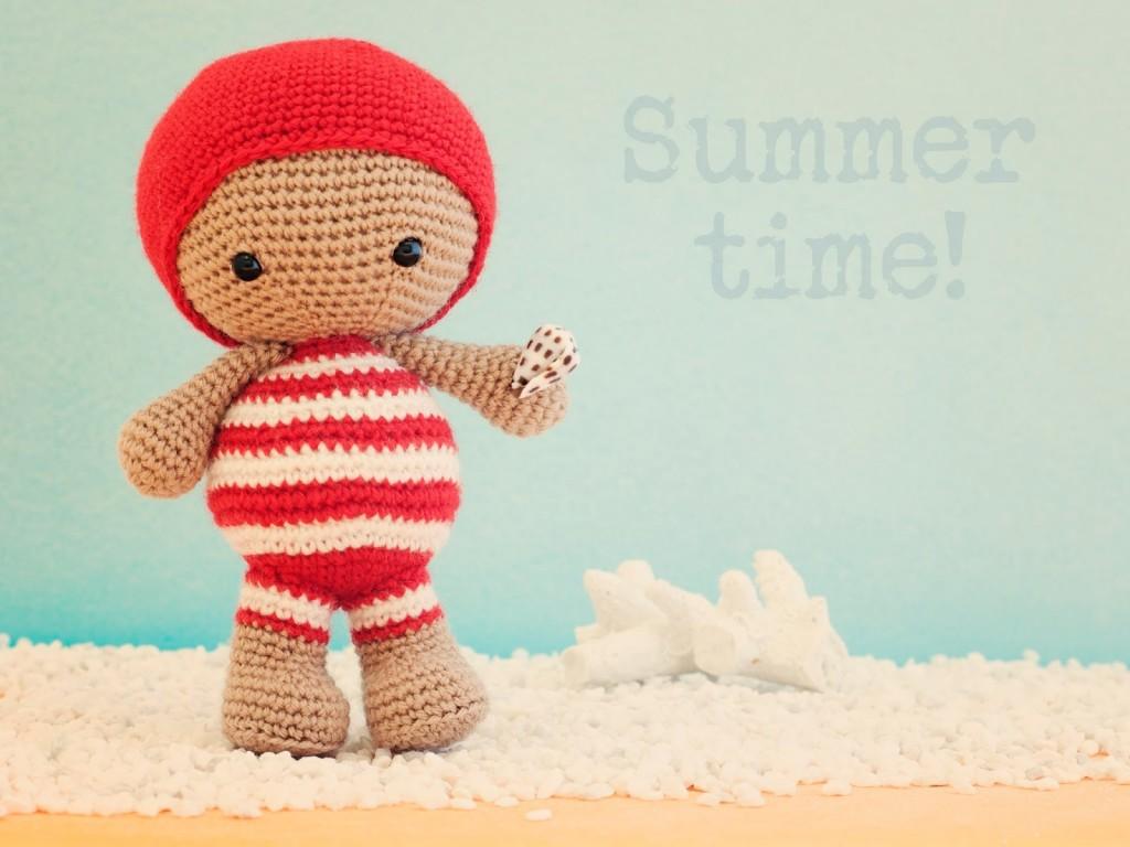 Crochet: Amigurumis en verano