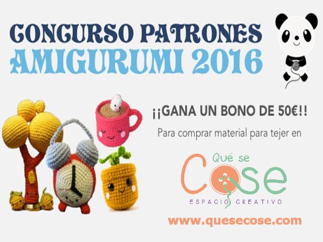Concurso Patrones Amigurumi 2016