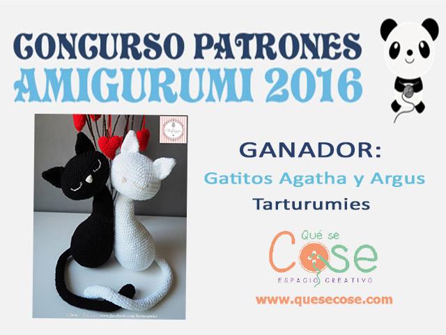 Ganador concurso Patrones Amigurumi 2016