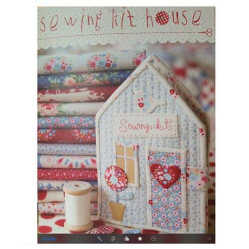 Kit sewing house de telas tilda de patchwork