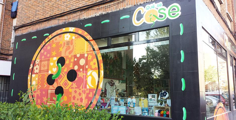 QueSeCose: Tienda de labores referente en Fuenlabrada