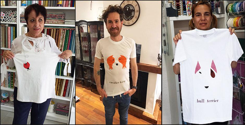 Las camisetas son para el verano