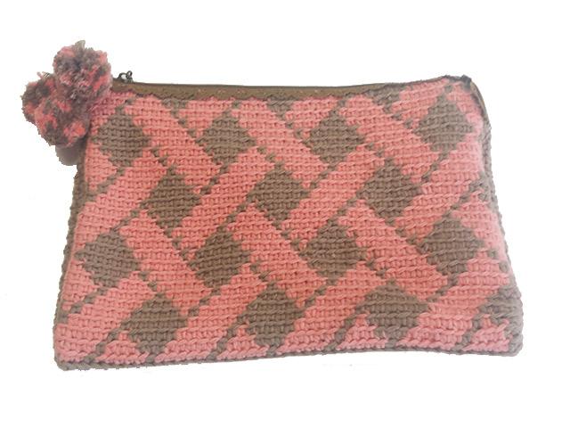 Monográfico Cartera Crochet en QueSeCose