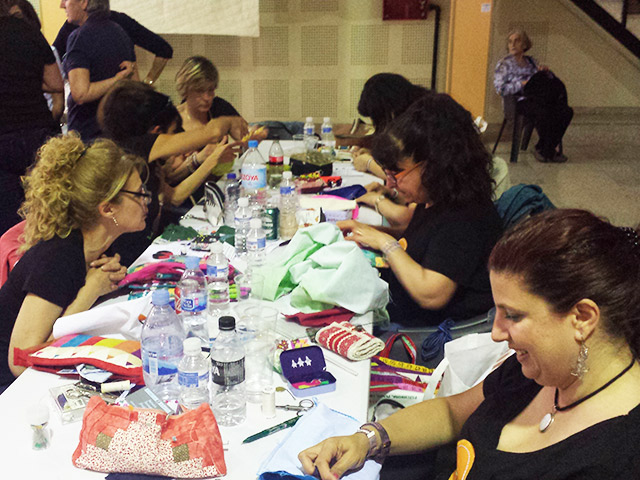 QueSeCose en el IX Encuentro de Patchwork de Loeches