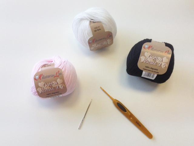 Sonajero elefante de Crochet hecho en QueSeCose