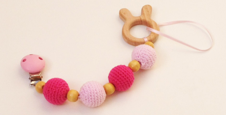 Chupetero de Crochet