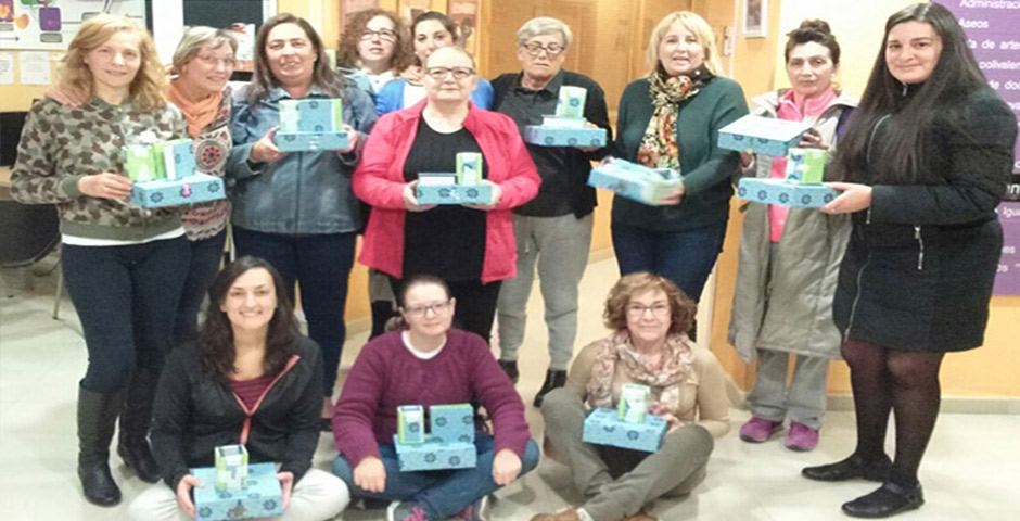 Gran éxito del 2º Curso de Cartonaje QueSeCose en el Centro 8 de Marzo